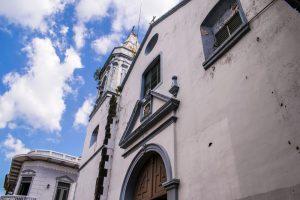 Église San José dans le centre historique de Panama