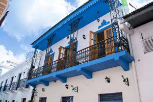 Maison refaite dans le centre historique de Panama