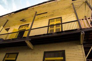 Maison ancienne dans le centre historique de Panama