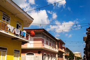 Maison typique dans le centre historique de Panama