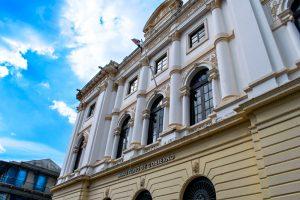 Ministère dans le centre historique de Panama