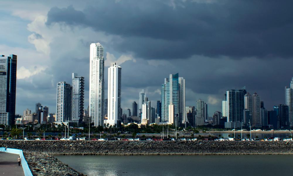 Vue de Panama City