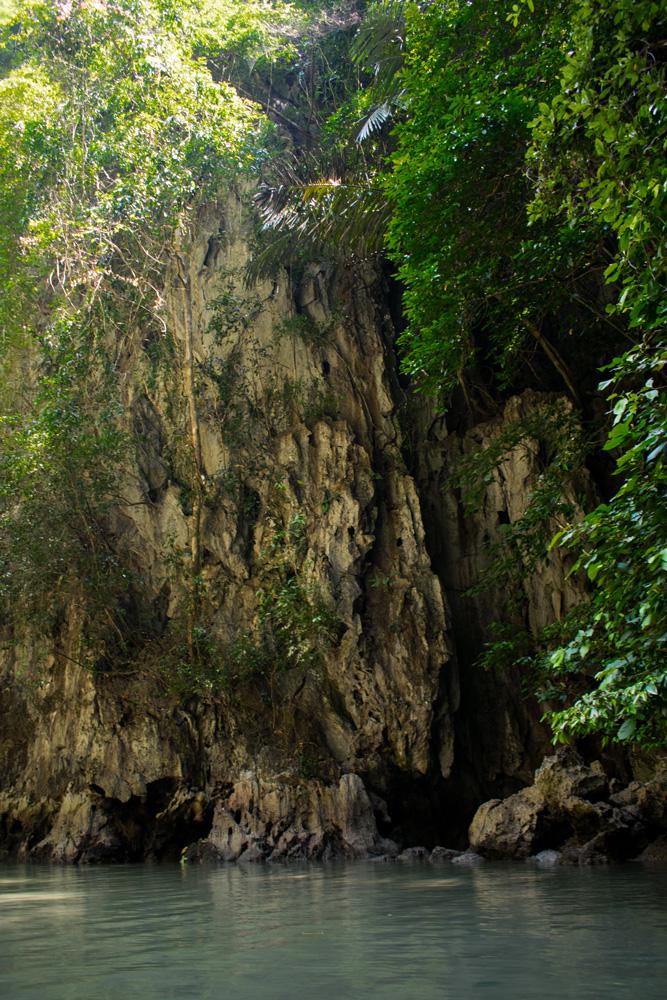 Parois rocheuse en Thaïlande