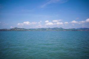 Vue baie de Phang Nga en Thaïlande