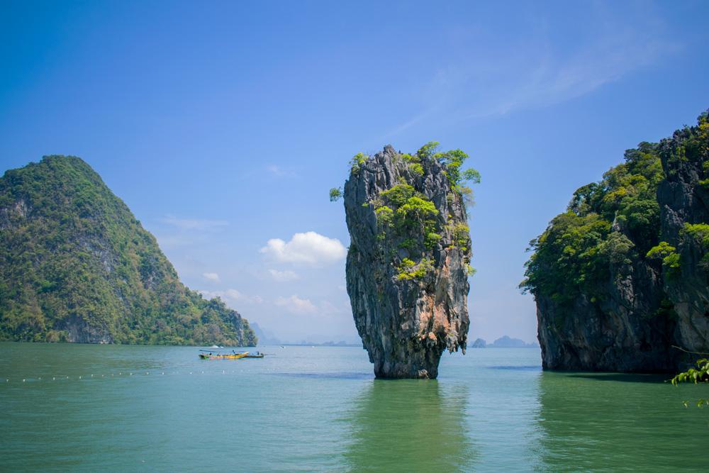 James Bond Island dans la baie de Phang Nga
