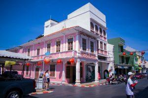 Maison dans la ville de Phuket Town en Thaïlande