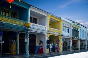 Centreville de Phuket Town en Thaïlande