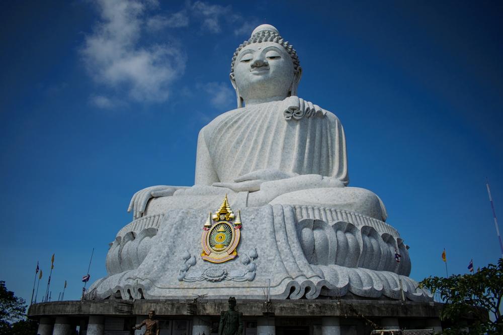 Statue de Big Bouddha dans les hauteurs de la province de Phuket