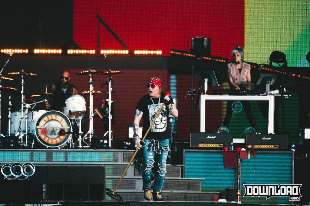 Axl Rose, le chanteur des Gun's and Roses