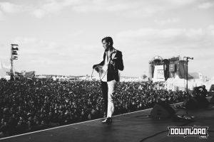The Hives sur scène lors du Download Festival