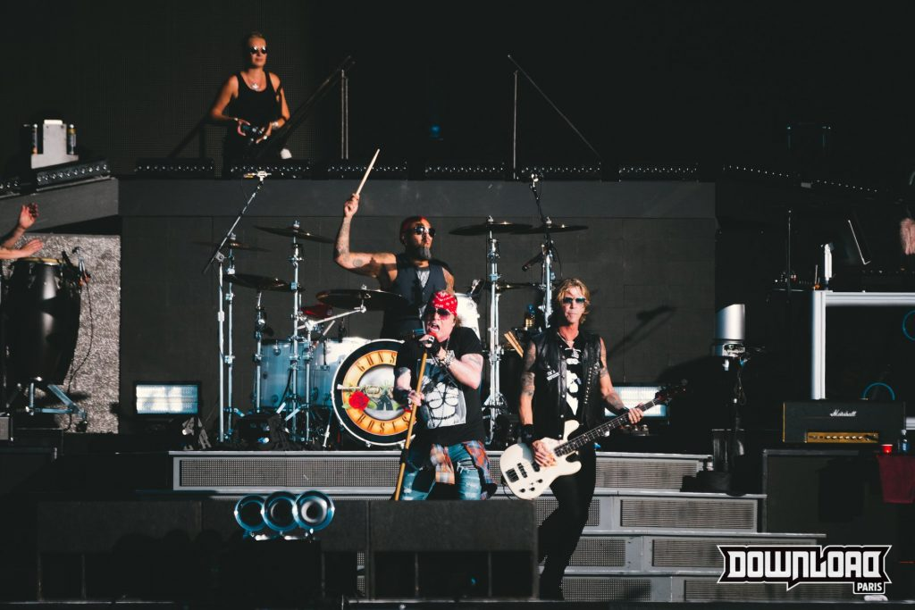 Groupe Gun's And Roses au Download Festival