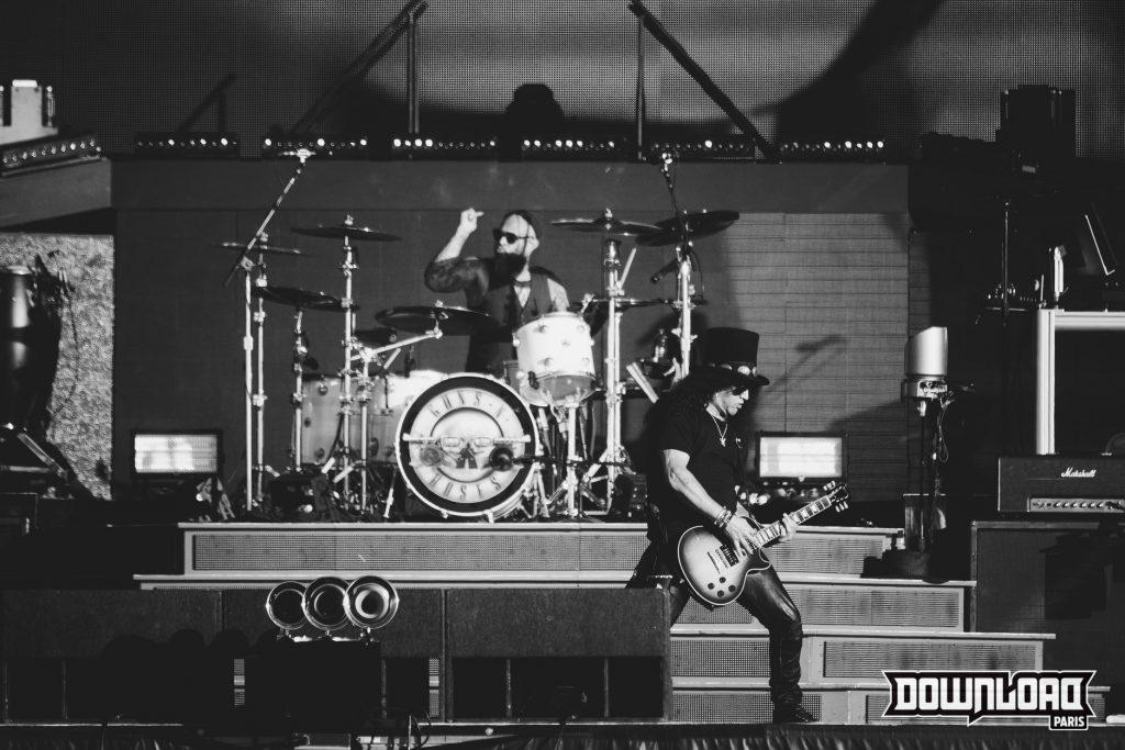 Slash le guitariste des Gun's and Roses