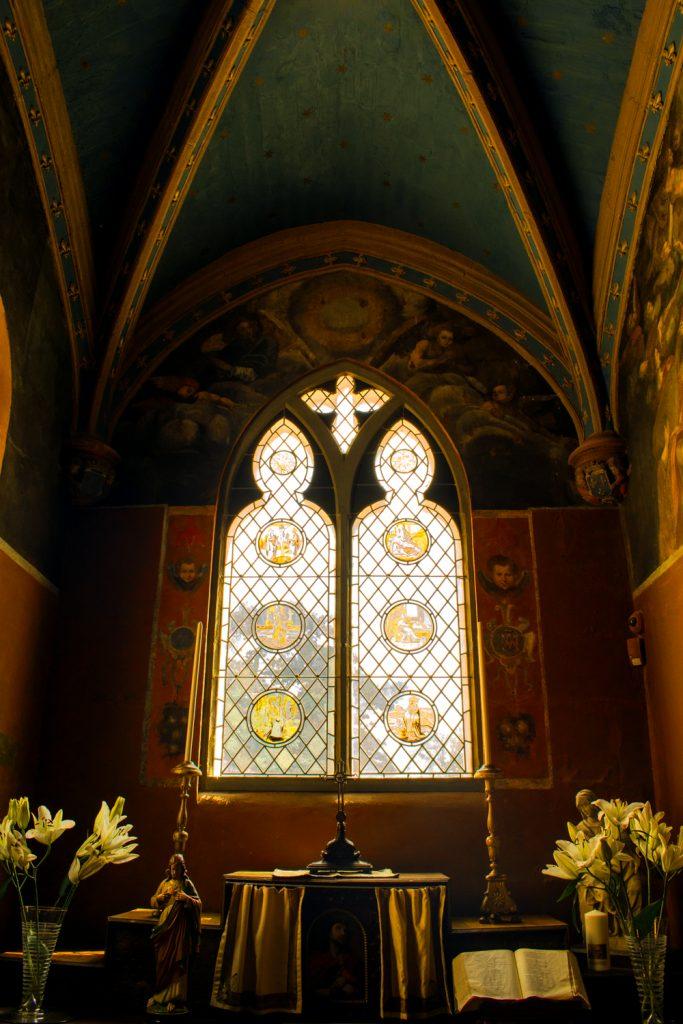 Chappelle du Clos Lucé à Amboise