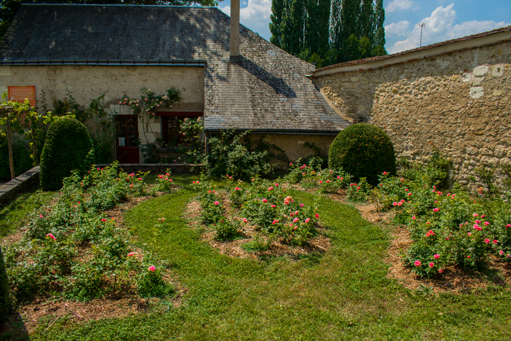 Jardin du Clos Lucé à Amboise