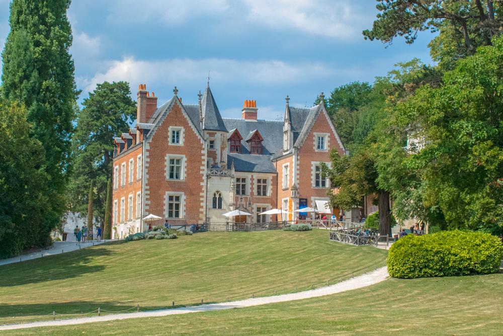 Le Château du Clos Lucé à Amboise en région centre