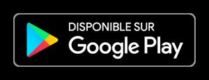 Boutton Disponible sur Google Play Store
