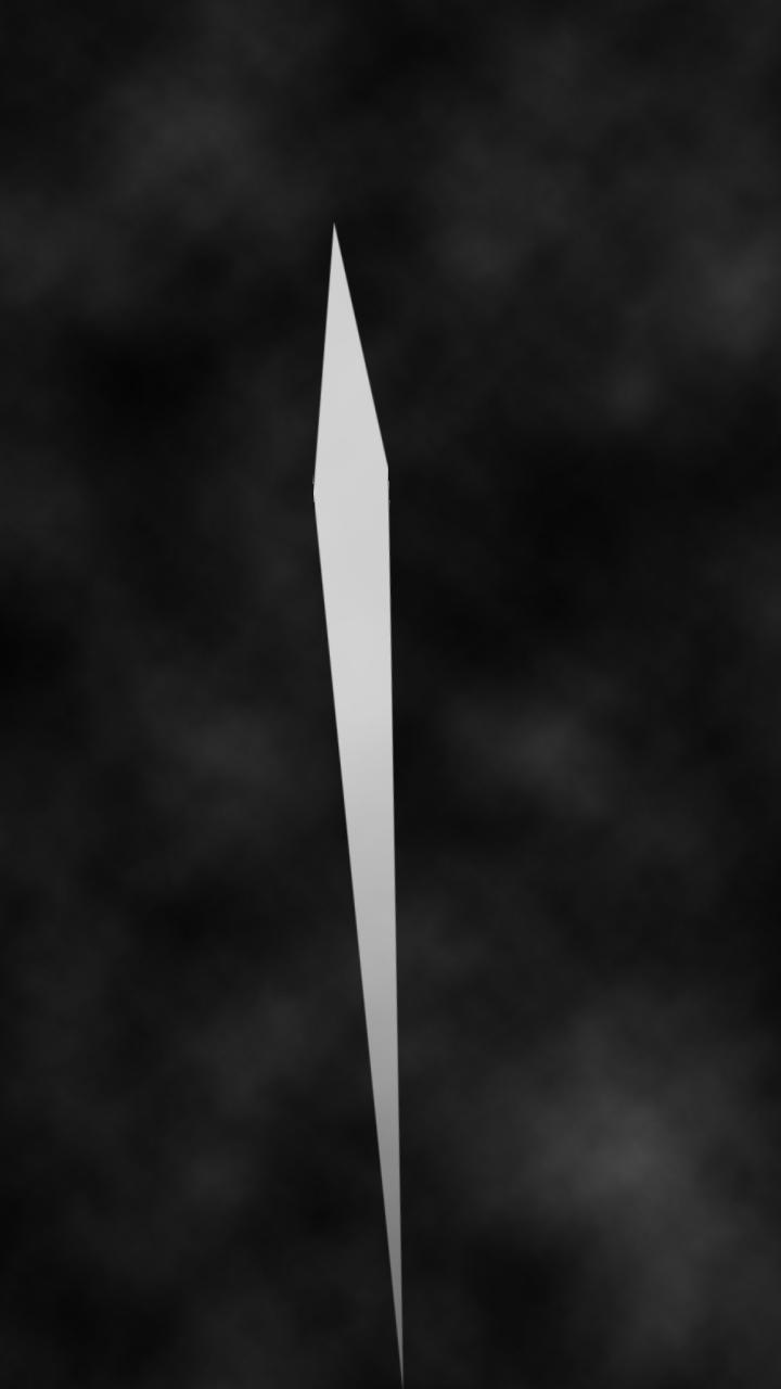 Un coup d'épée du chevalier aveugle dans le jeu A Blind Legend