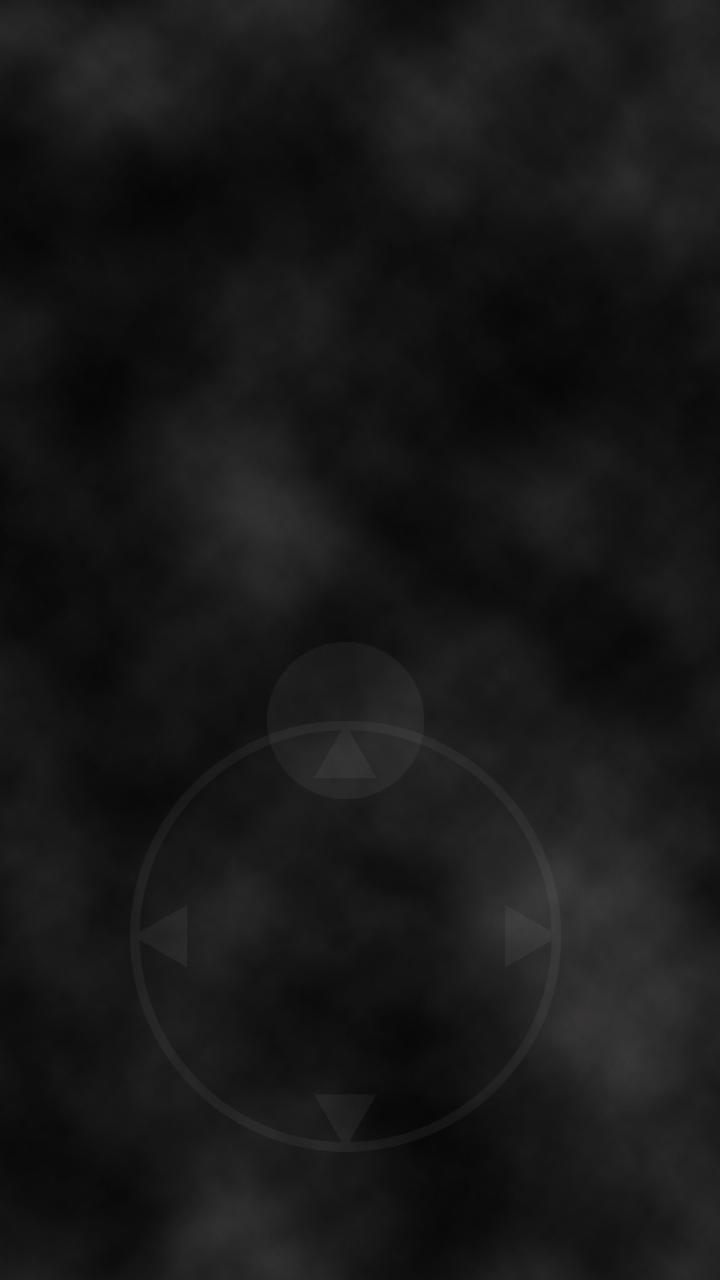 Le curseur pour se déplacer dans le jeu A Blind Legend