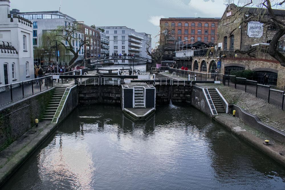 Le canal à Camden Town