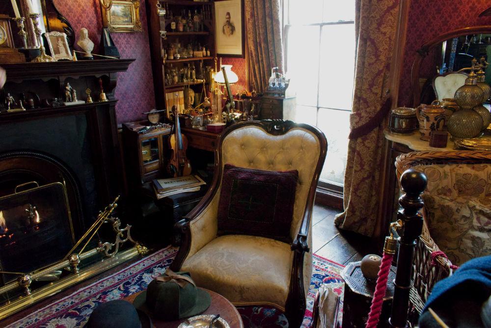 Musée de Sherlock Holmes 221B Backer Street