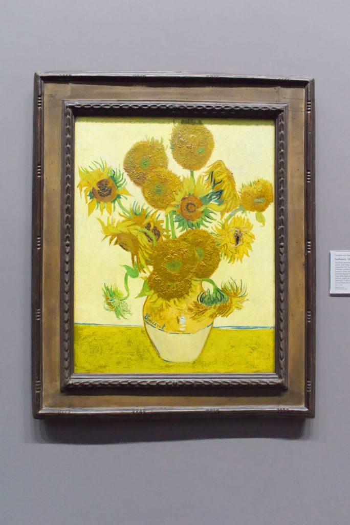 Les Tournesols de Van Gogh à la National Gallery de Londres