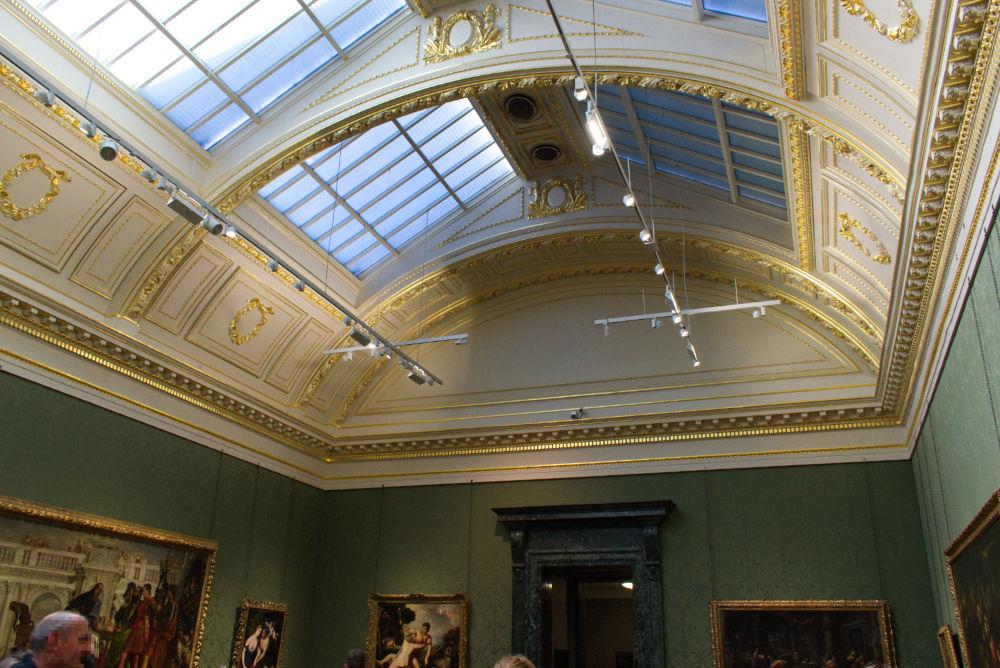 National Gallery de Londres à Trafalgar Square
