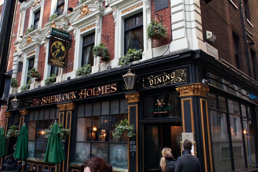 Pub The Sherlock Holmes