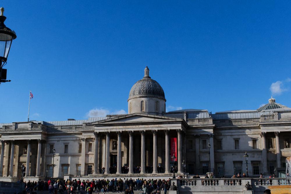 La National Gallery à Trafalgar Square