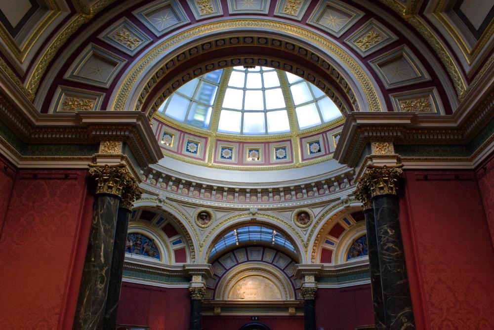 Intérieur de la National Gallery de Londres
