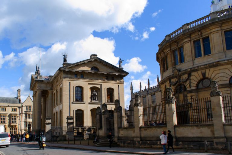 Bâtiment d'Oxford College