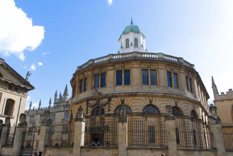 Le Sheldonian Theatre de l'université d'Oxford