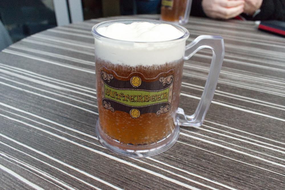 Bière au beurre au Studio Harry Potter