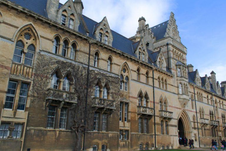 Entrée de Christ Church College,, Université d'Oxford