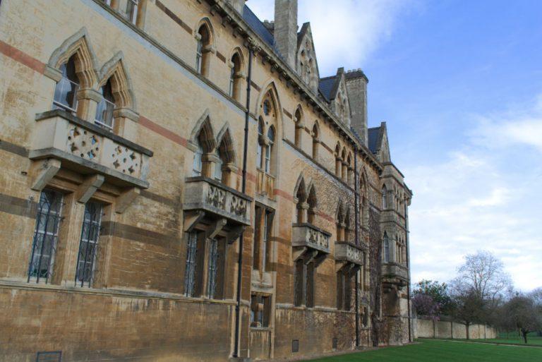 Entrée de Christ Church un des colleges de l'université d'Oxford