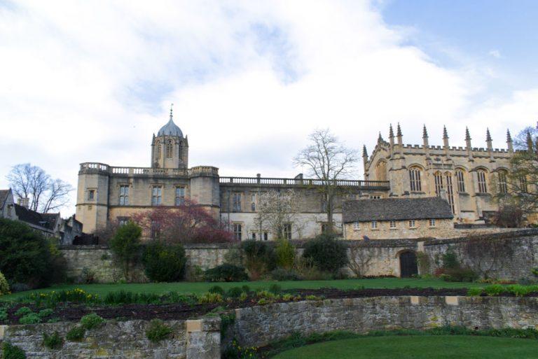 Christ Church College, un des college de l'université d'Oxford