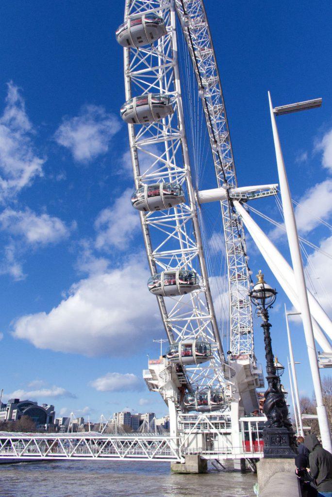 The London Eye, la grande roue sponsorisé par Coca Cola