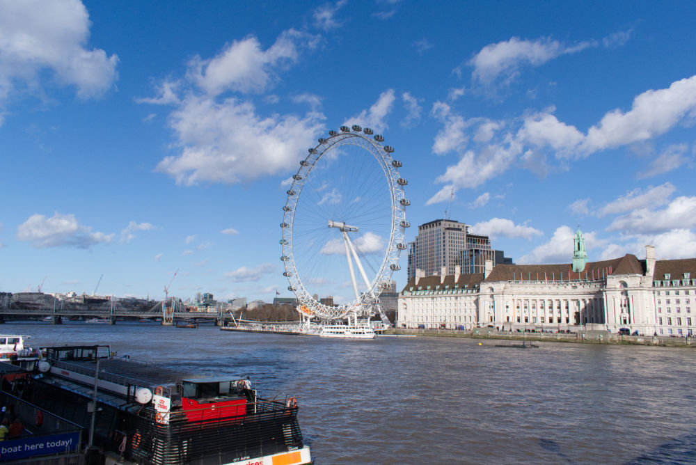 The London Eye, la grande roue de Londres