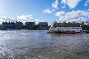 Vue de la Tamise à Londres