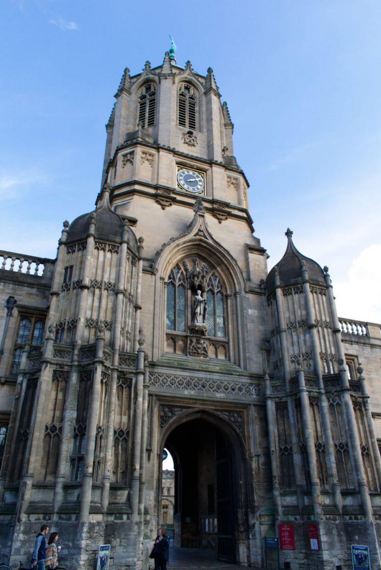 Tour de l'université d'Oxford