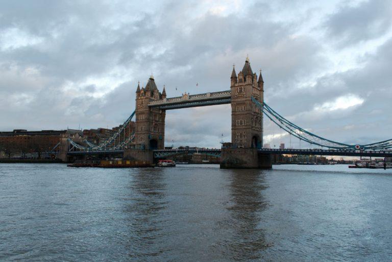 Les 2 tours de Tower Bridge, un des ponts les plus célèbre de Londres