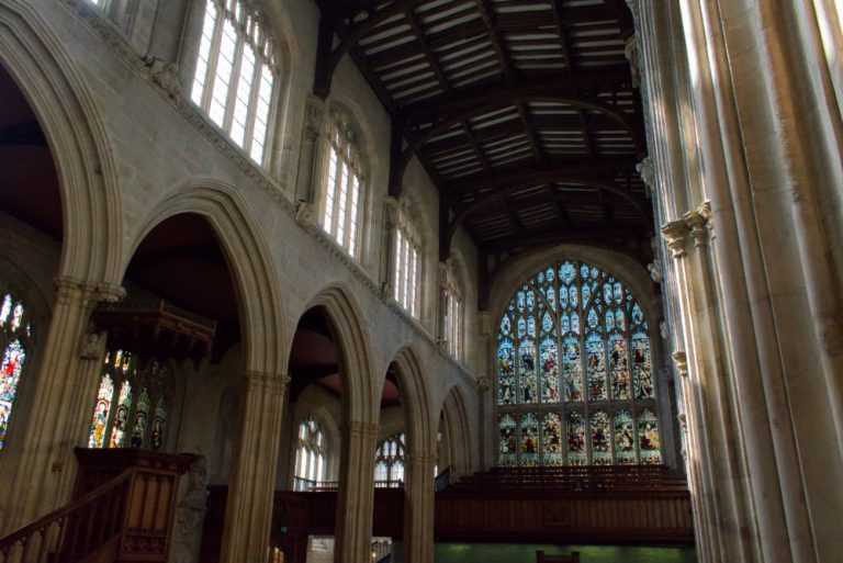 Voute de l'Église d'Oxford College