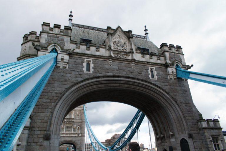 Arche de Tower Bridge à Londres