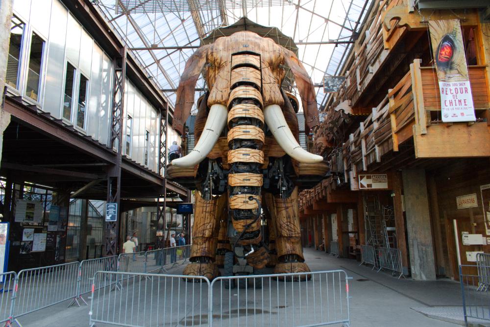 Éléphant des machines de l'île