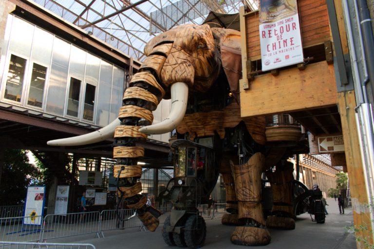 Éléphants des machines de l'île à Nantes