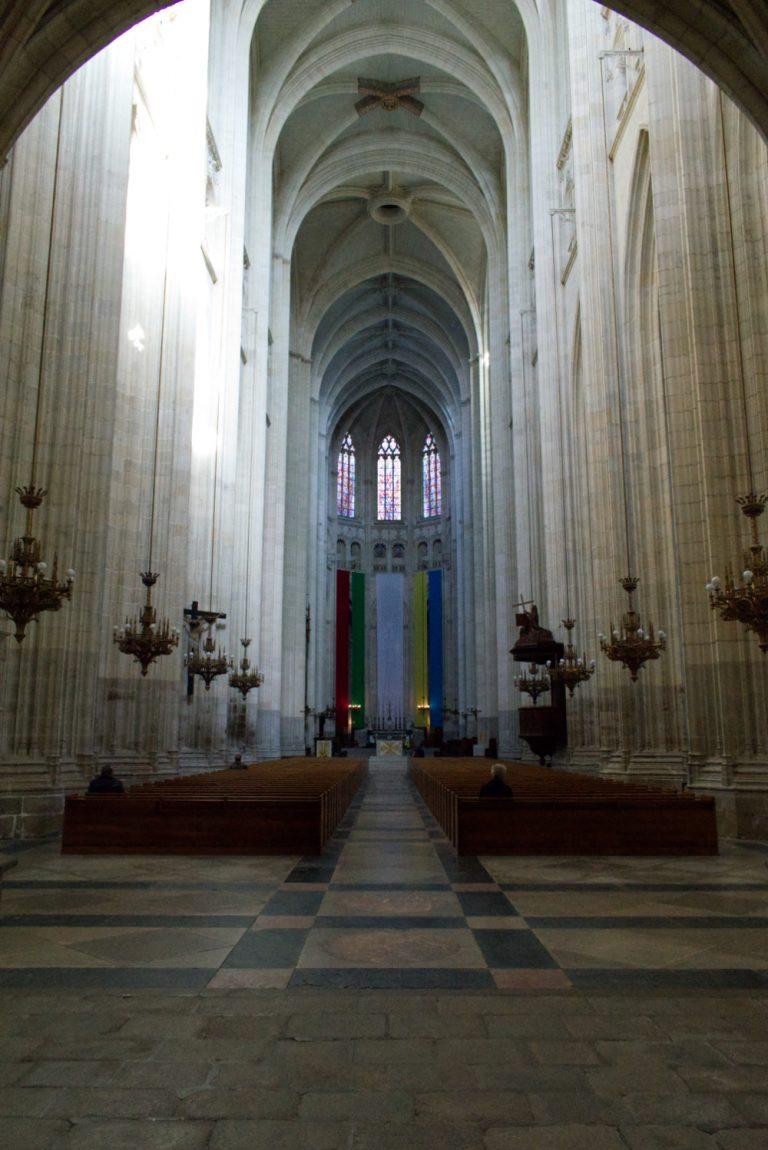 Intérieur de la cathédrâle de Nantes