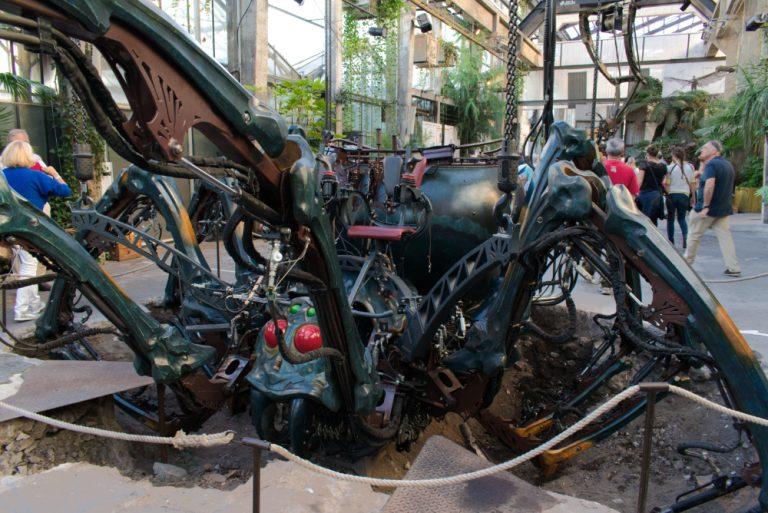 Araignée mécanique des machines de l'île à Nantes