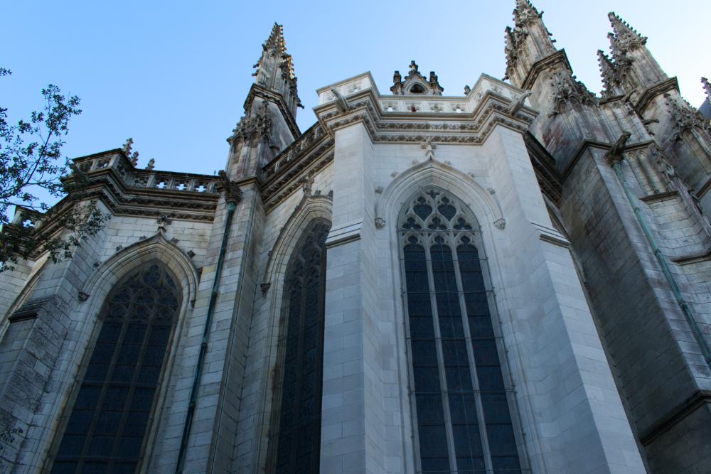 Côté cathédrale de Nantes