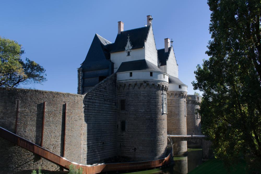 Entrée du Chateau des Ducs de Bretagne à Nantes