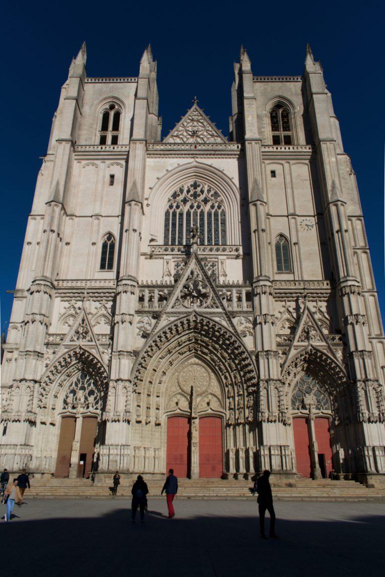 Façade de la cathédrale de Nantes