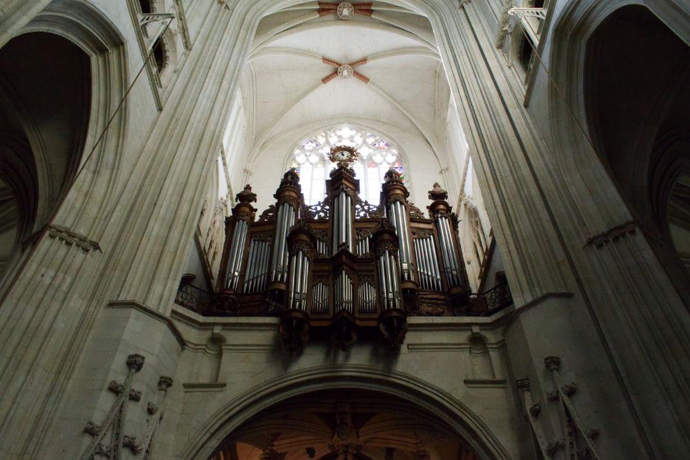 Orgue de la cathédrale de Nantes